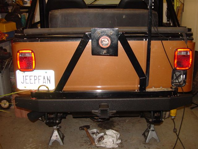 Jeep Spare Tire Carrier Fabrication Diy
