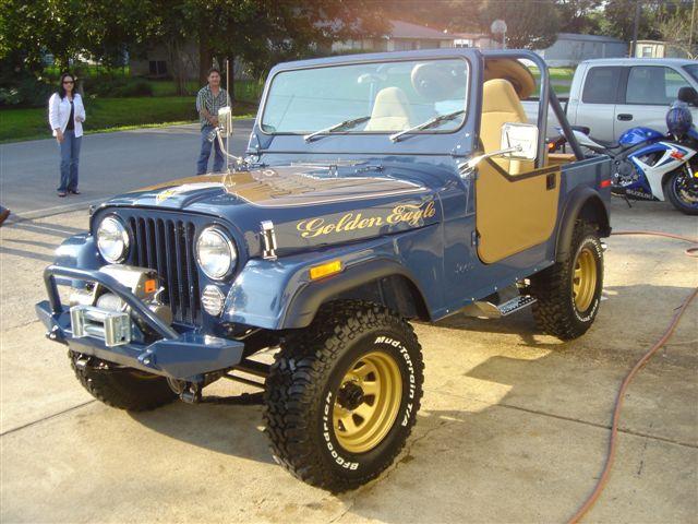 James Owens 1979 Golden Eagle Cj 7 Part 2 Jeepfan Com