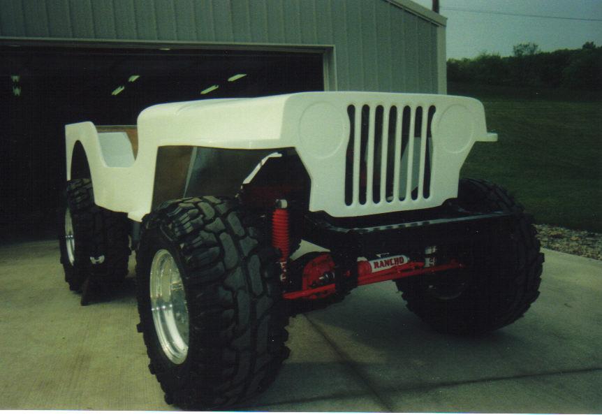Mike S 1950 Cj 3a Rebuild V8 Conversion Jeepfan Com