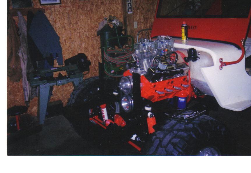 Mike's 1950 CJ-3A Rebuild, V8 Conversion | jeepfan com