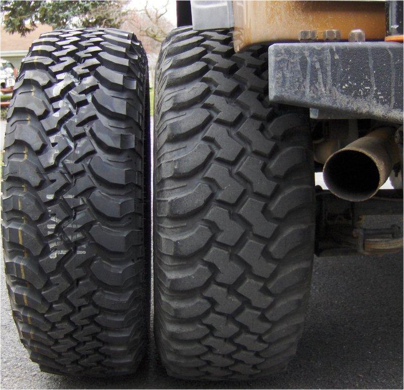 Tire Size Comparison >> Jeep CJ to Jeep Wrangler JK Comparison | jeepfan.com