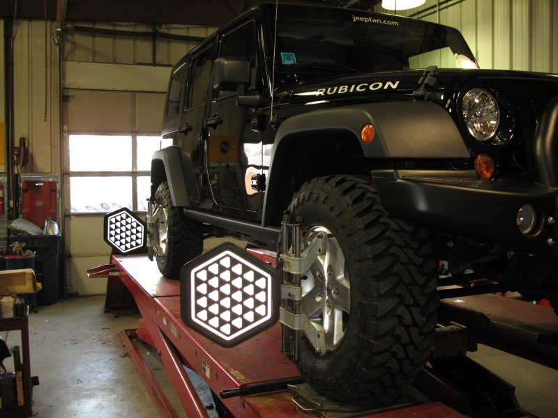 Jeep Leveling Kit >> Jeep Wrangler JK Alignment | jeepfan.com