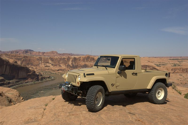 Jeep Wrangler Jt Concept Jeep Truck From Skunkwerks