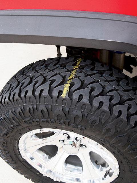 Checking Tire Pressure Determine Correct Pressure