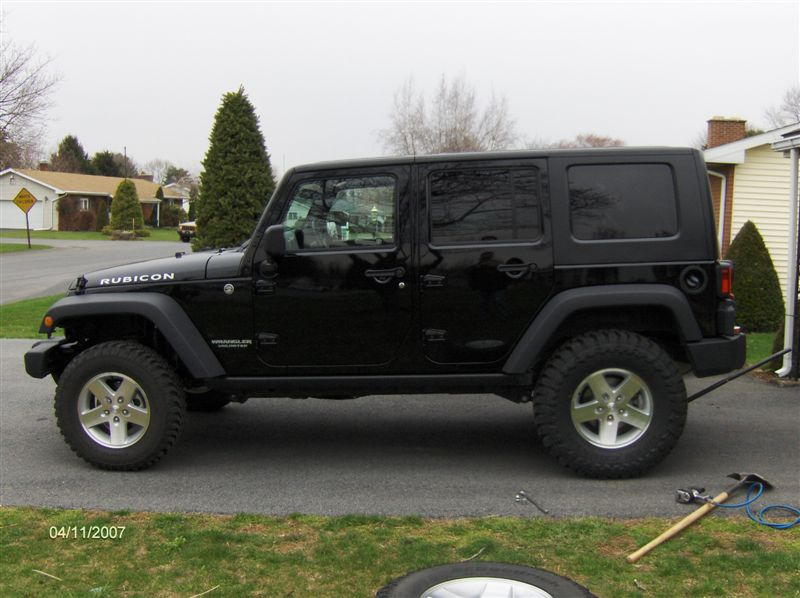 "Jeep Jk 3. Tires >> Will 35's fit on my JK Wrangler with stock rims? Toyo Open Country M/T 35"" on a JK Wrangler ..."
