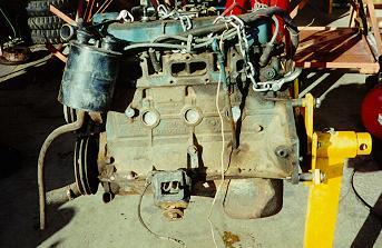 Jeep Factory Engine 151 2 5l Inline 4 Cylinder Engine