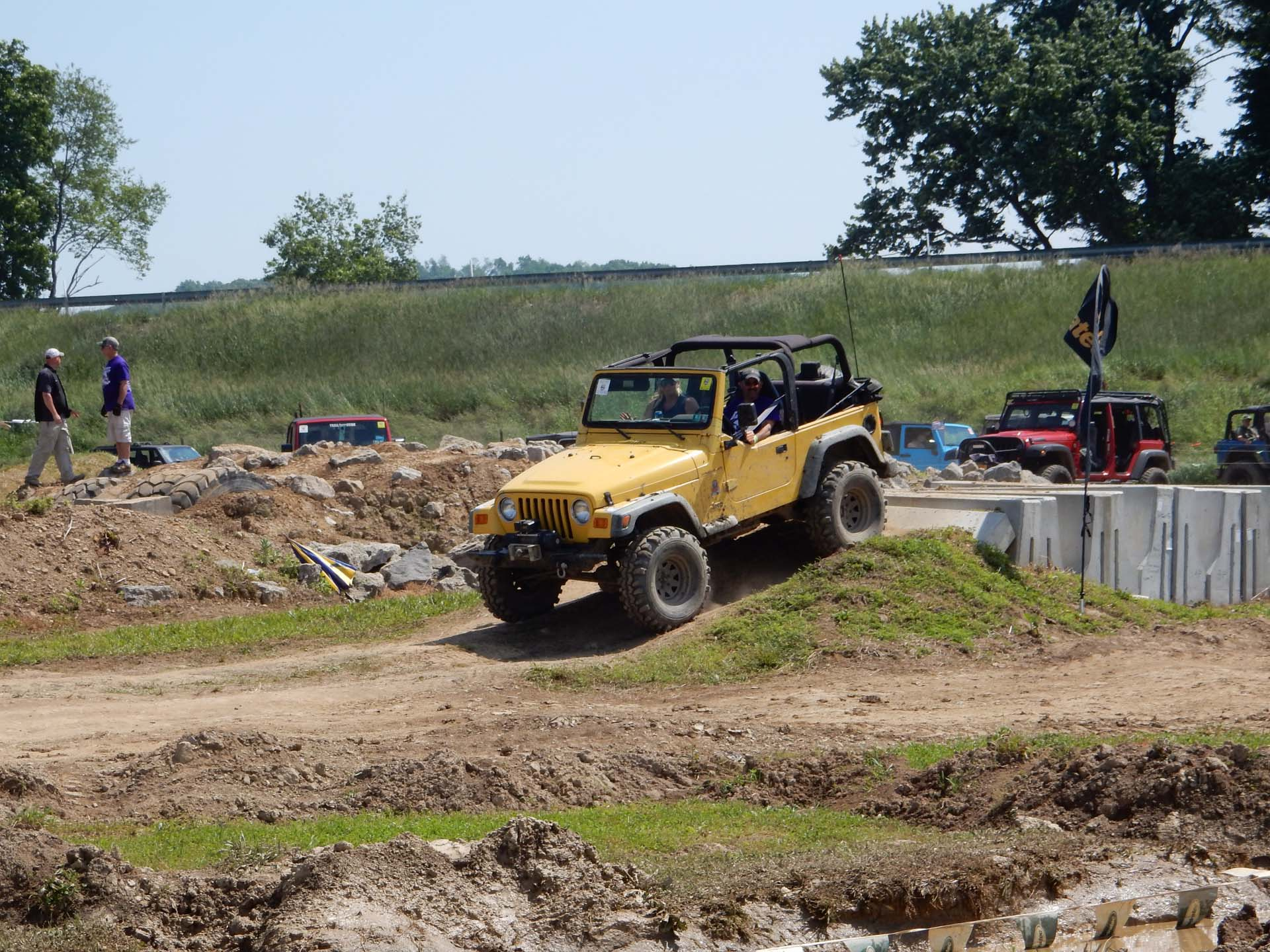 Bantam Jeep Heritage Festival 2017 Obstacle Course