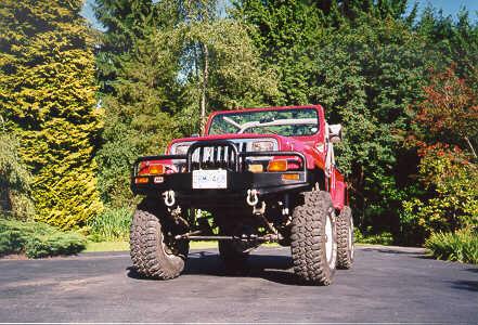 Jeep Wrangler YJ Axle Swapping | jeepfan com