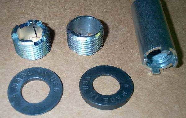 Dana 30 and Dana 44 Front Axle Castor/Camber Adjustment with