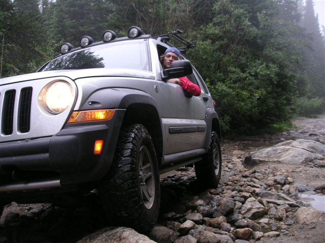 Old Man Emu >> Keith's 2005 Liberty 2 Revtek suspension lift Goodyear MT ...