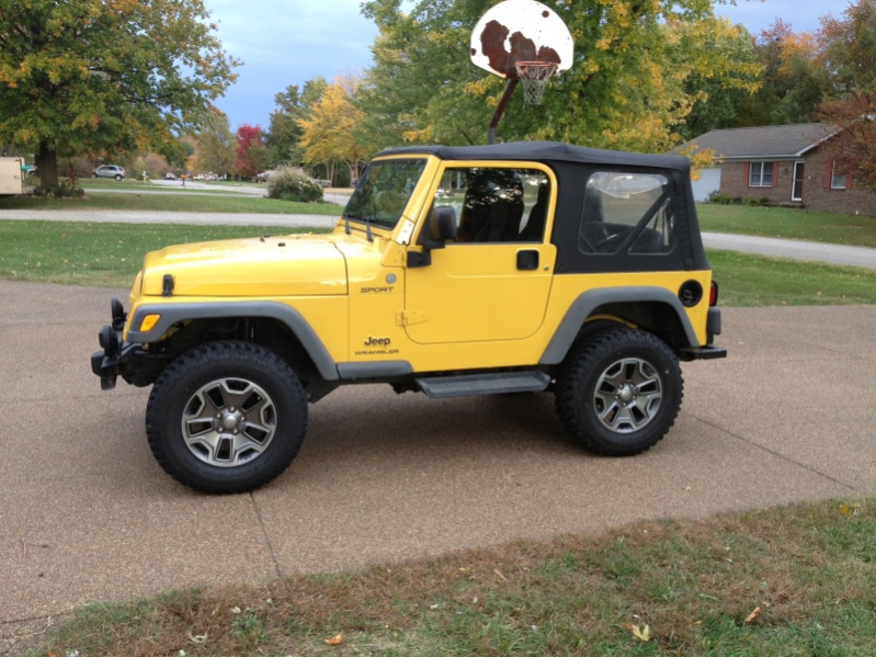 2007 And Up Wrangler Jk Wheels On A Tj Or Yj Jeepfan Com