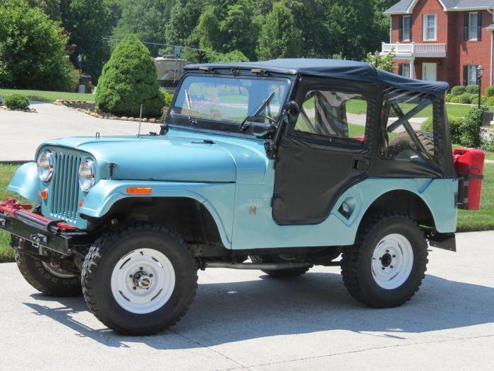 Decoding Jeep Cj Vin Numbers 1955 1971 Jeep Cj 5 Cj 6
