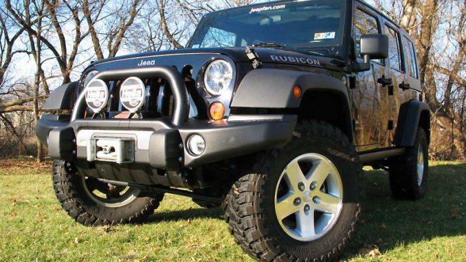 Jeep Wrangler JK Front Bumper Guide Part 2