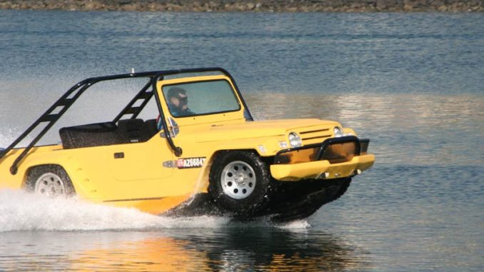 Watercar Gator - The worlds first amphibious Jeep | jeepfan.com