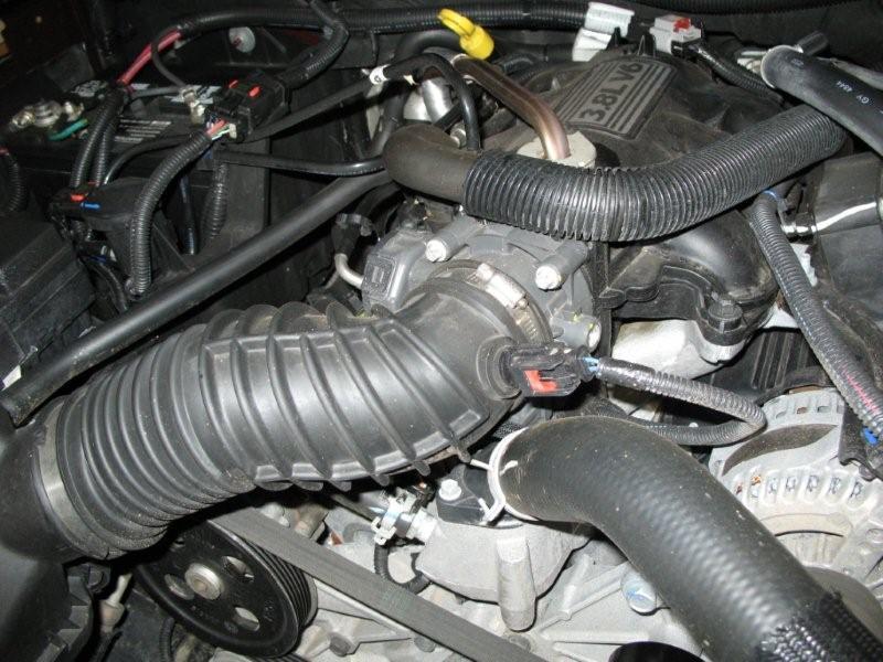 Fan Spacer Cold Air Intake : Poweraid throttle spacer and airaid cold air intake