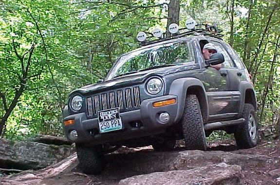 Ted S 2002 Jeep Liberty Kj Frankenlift Arb Lockers Garvin Wilderness