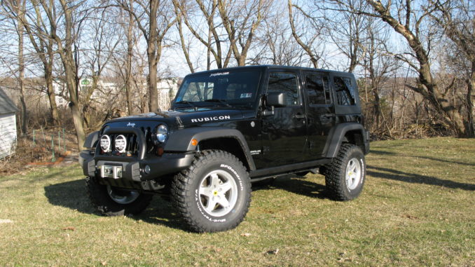 New tires and wheels | jeepfan com