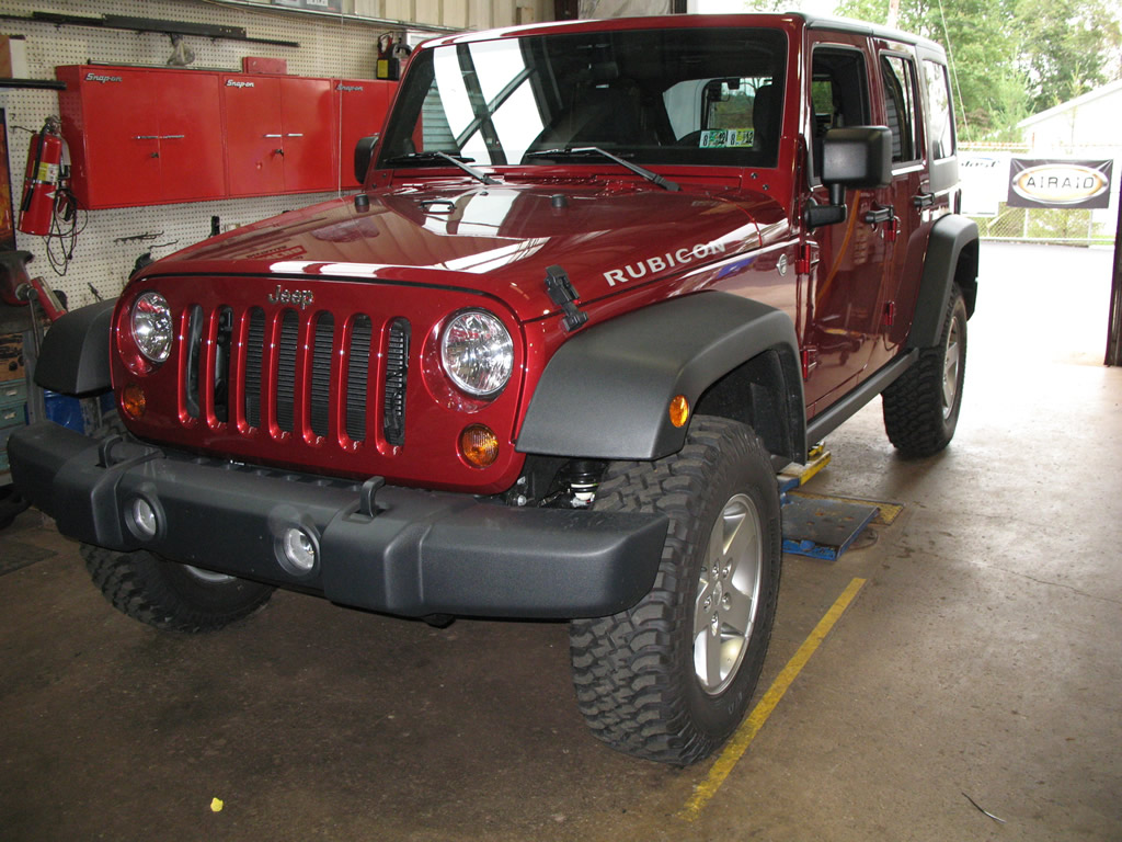 Tire Size Comparison >> Goodyear Wrangler Duratrac 285/75R17 Tires Installed ...