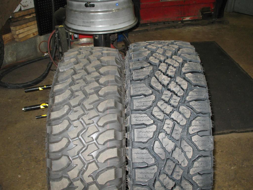 Tire Size Comparison >> Goodyear Wrangler Duratrac 285/75R17 Tires Installed Wrangler | jeepfan.com