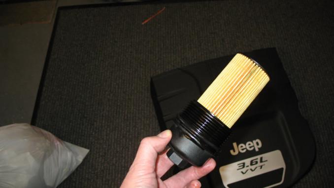 Pentastaroilchange X on 2015 Jeep Wrangler Oil Filter