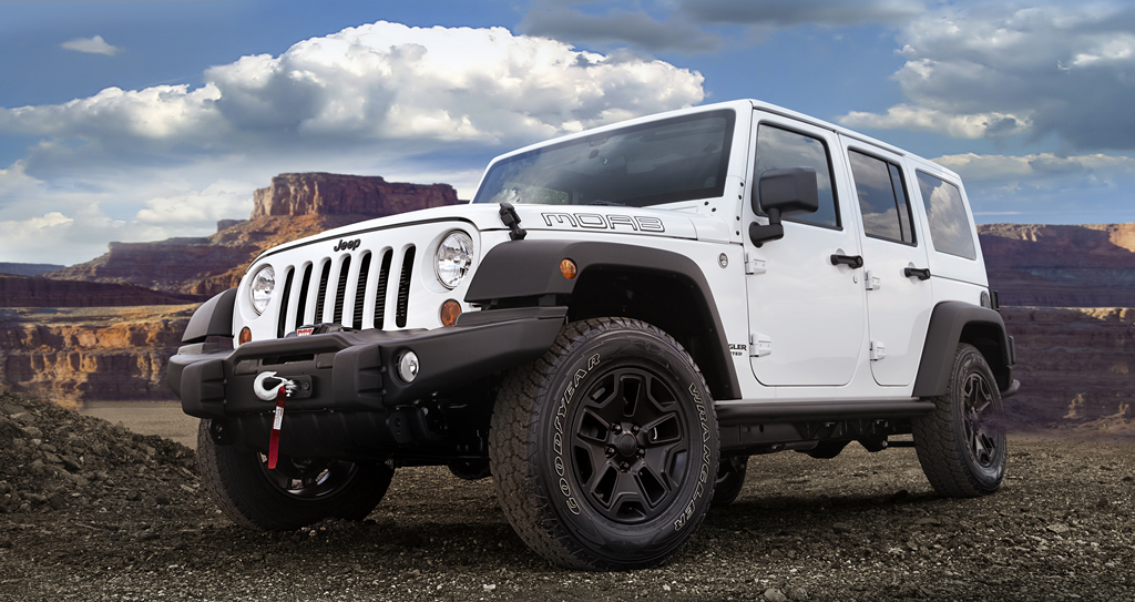 Lifted Jeep Wrangler >> 2013 Jeep Wrangler Moab Special Edition | jeepfan.com