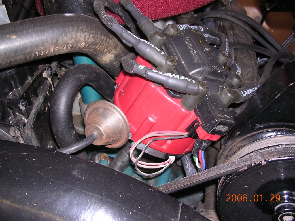 Gm hei distributor conversion for an amc v jeepfan