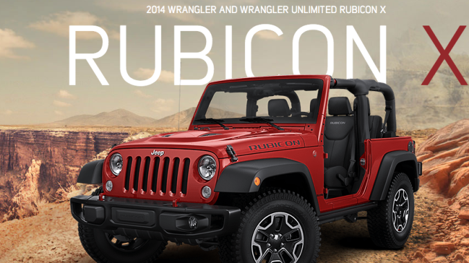 Elegant The 2014 Rubicon X Is Based Upon The 2013 10th Anniversary Edition Rubicon.  Packed With All The True Jeep Features That All Rubicons Have As Well As ...