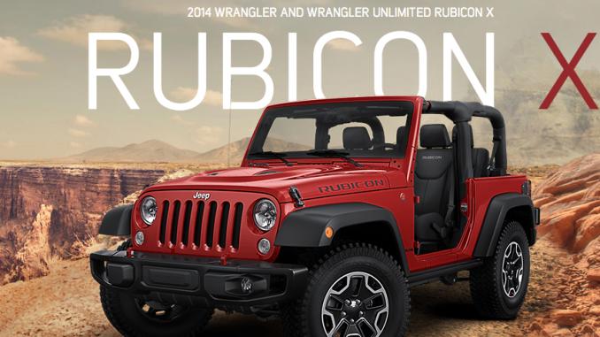 2014 Jeep Wrangler Rubicon X Special Edition | jeepfan.com