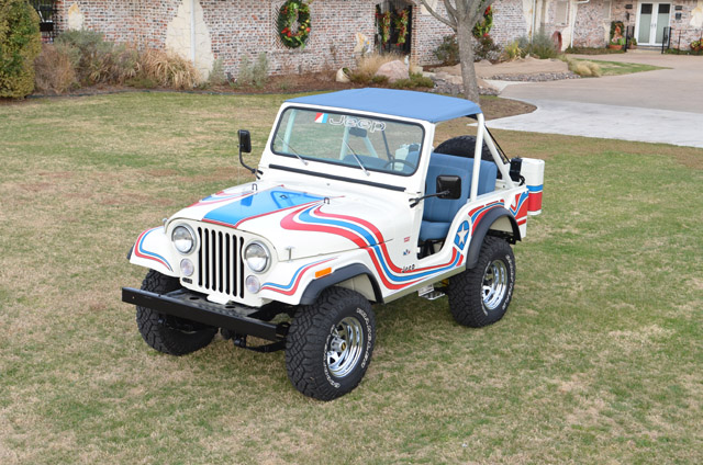 Jeep Wrangler For Sale In Texas >> Rare Jeep 1976 CJ-5 Super Jeep AMC304 T-150 Desert Dog ...