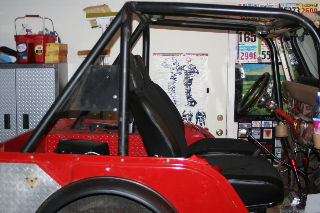 Body and Seat Modification for a CJ-5 | jeepfan.com