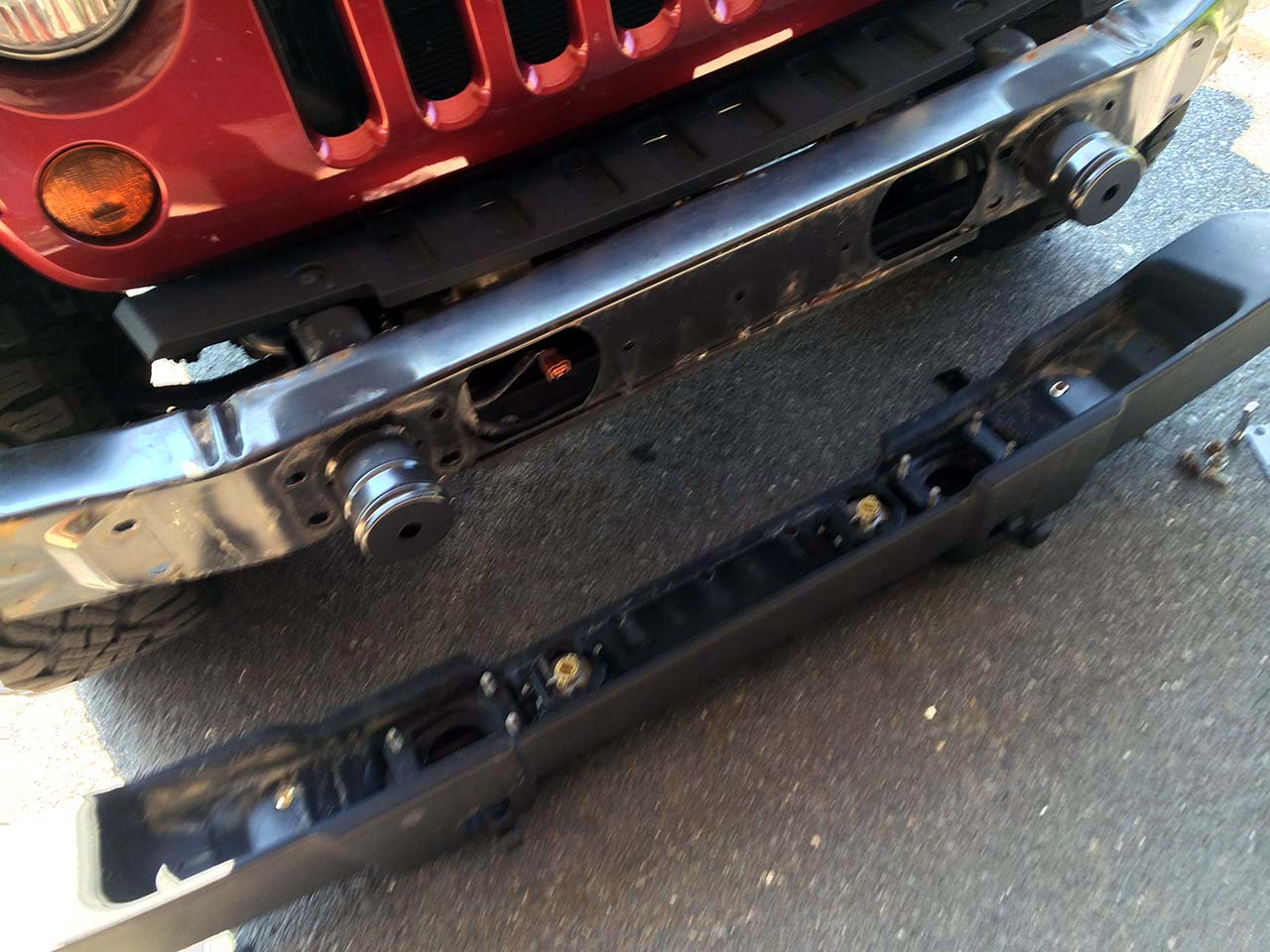 Barricade Trail Force Hd Front Bumper Install Jeepfan Com