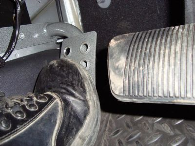 M O R E Dead Pedal For Drivers Side Jeep Wrangler