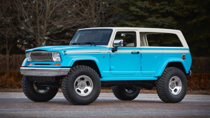 crazy cool jeep cherokee chief concept | jeepfan
