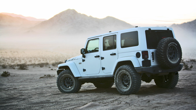 White Jeep Wrangler Unlimited U2013 Clean