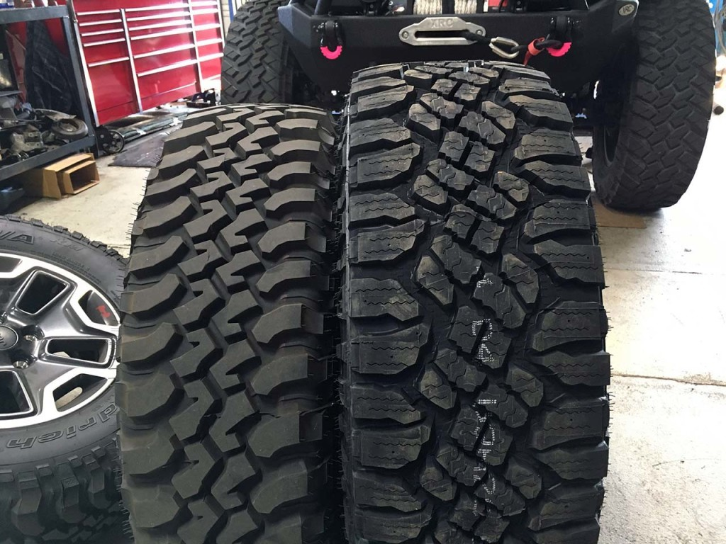 315 70R17 Tires >> Goodyear Duratrac 315/70R17 Tires Installation | jeepfan.com