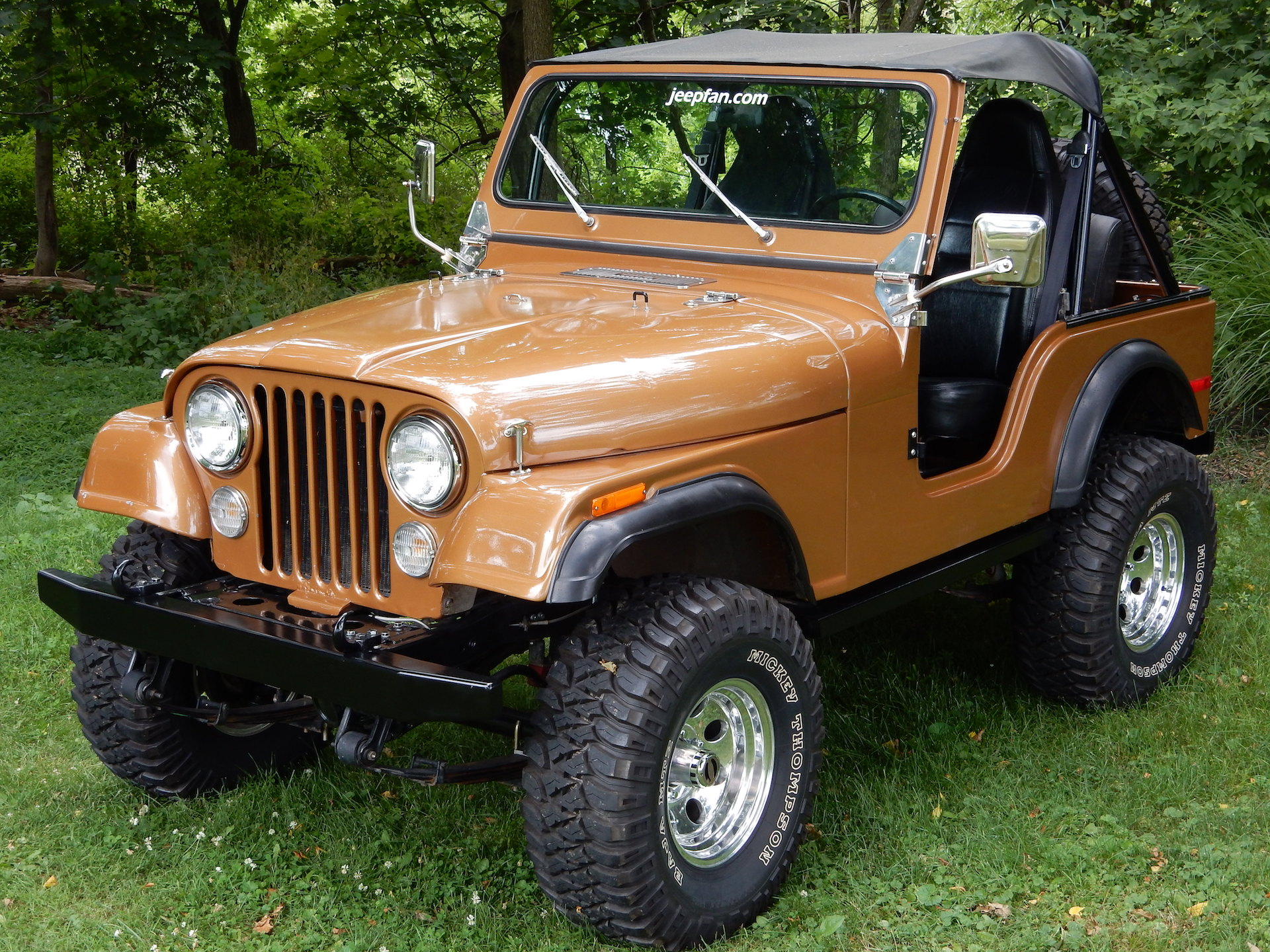 1997 Jeep Wrangler Lift Kit >> Old Man Emu YJ Springs on a CJ Lift Conversion | jeepfan.com