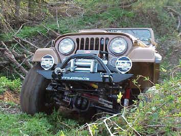 Warn 8000i Winch Install jeepfancom