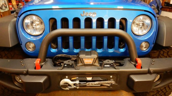 Warn VR10S Winch Installation on a Wrangler JK jeepfancom