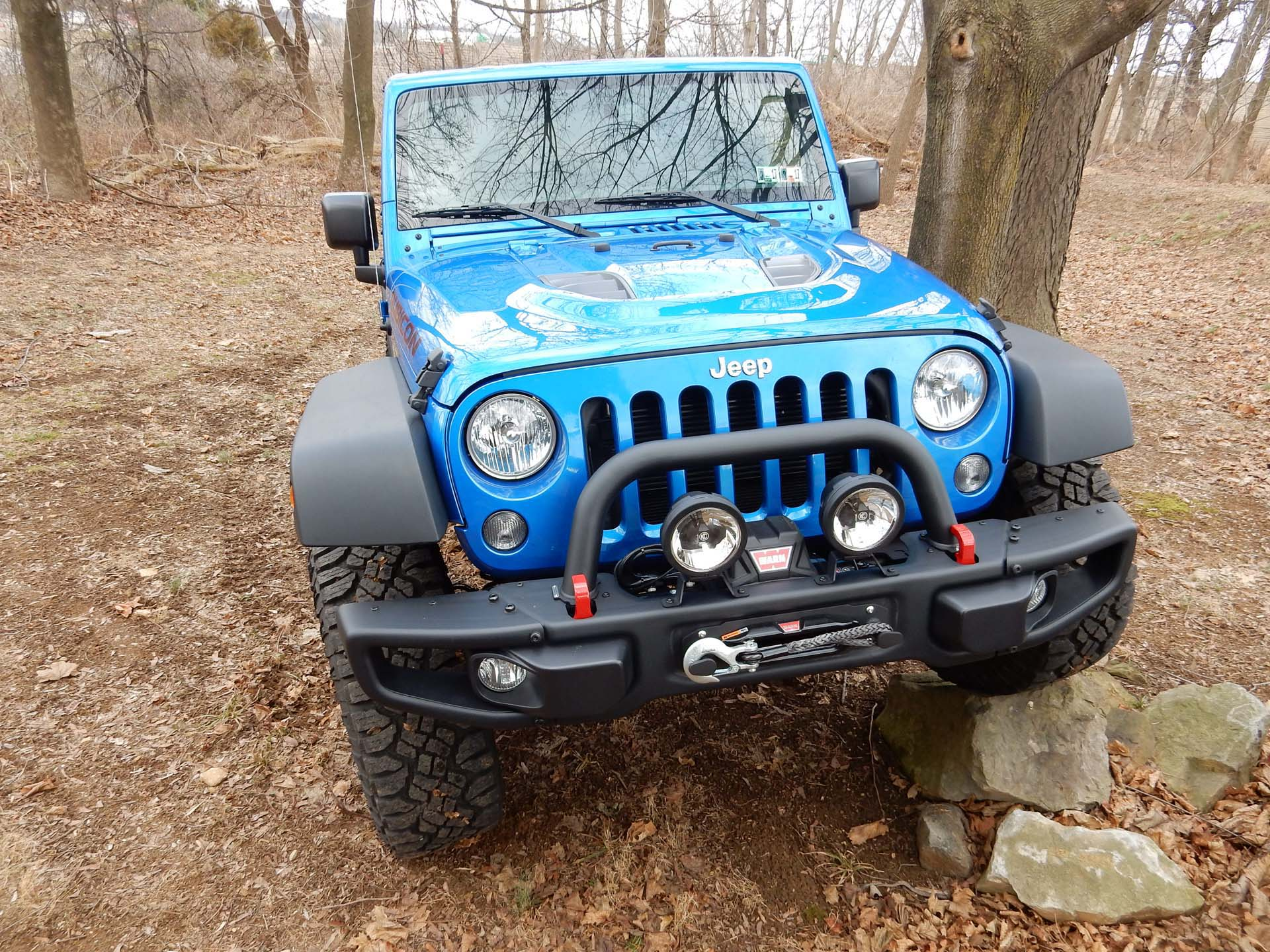Wiring accessories on a JK is much more complex than earlier model Jeeps.  There is minimal extra space under the hood and getting wiring through the  cowl is ...