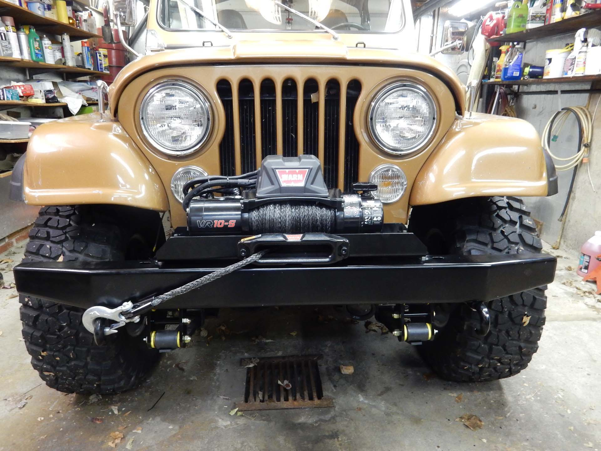 Warn Vr10s Winch Wiring On A Cj How To Wire Jeep While Its Not Necessary Disconnect The When In Use It Is Practice Performed By Most Jeepers