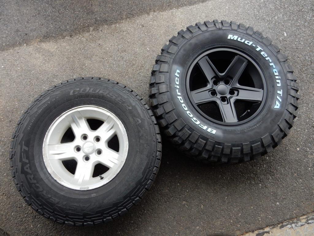 Bfgoodrich Mud Terrain On Rubicon Extreme Wheels Jeepfan Com