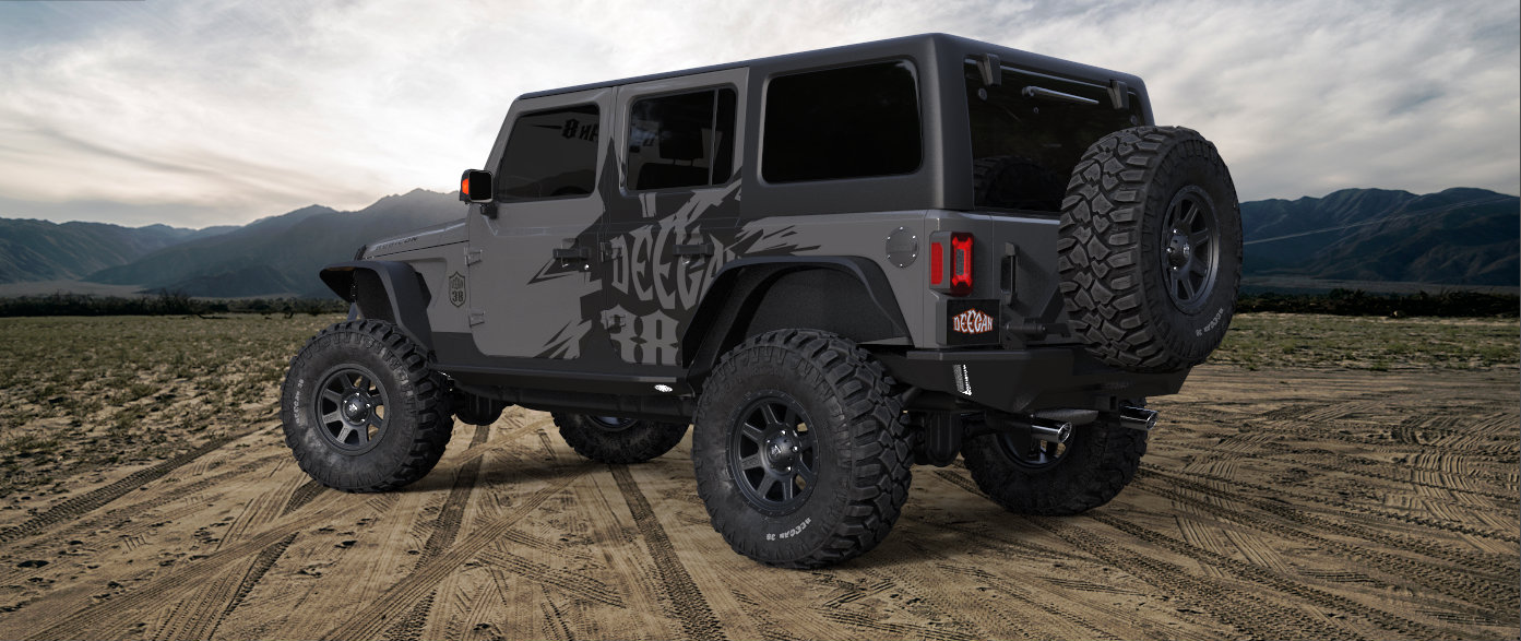Win Two Modified 2018 Jl Wranglers Jeepfan Com