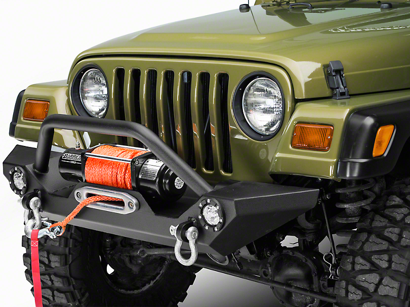 Wrangler TJ Barricade Front Bumper Install