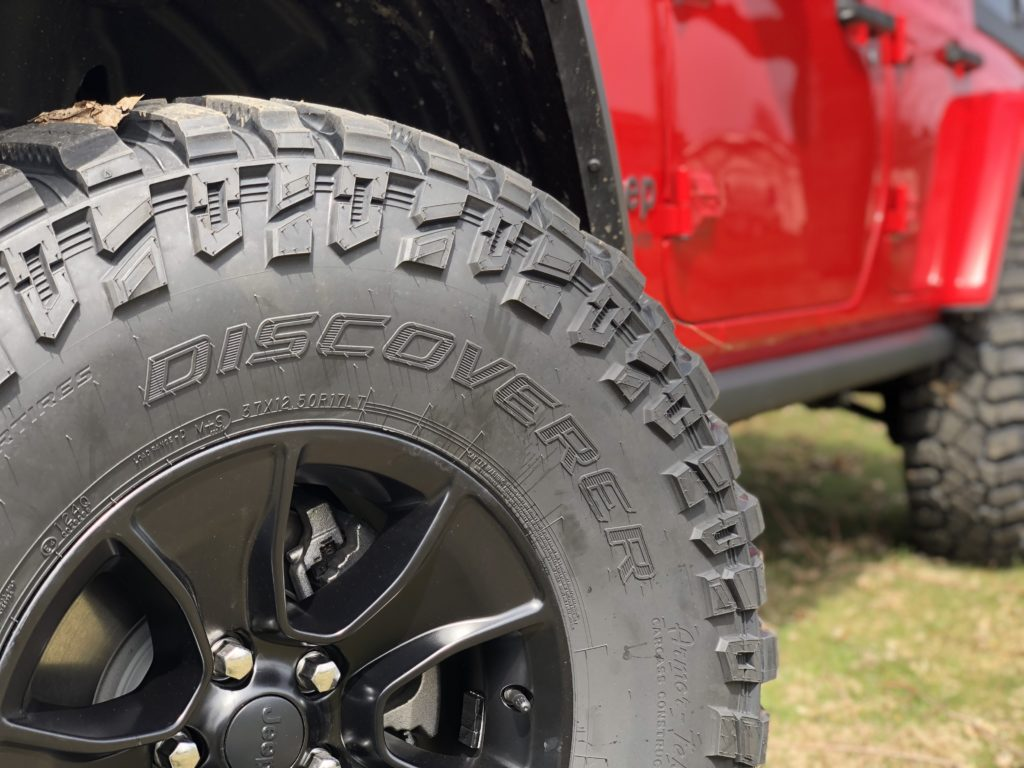 37 Inch Cooper Stt Pro Tires For The Jl